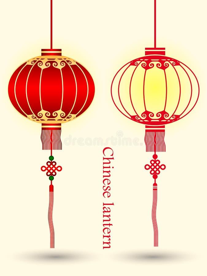 chinese lantern stock illustration illustration of illustration
