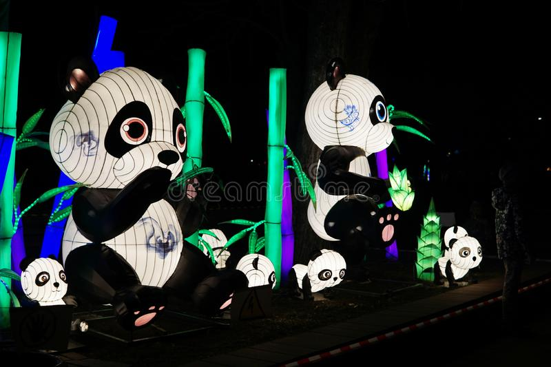 Chinese lantern festival. royalty free stock images
