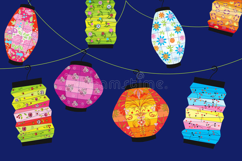 Download Chinese Lanterns Royalty Free Stock Photography - Image: 15370477