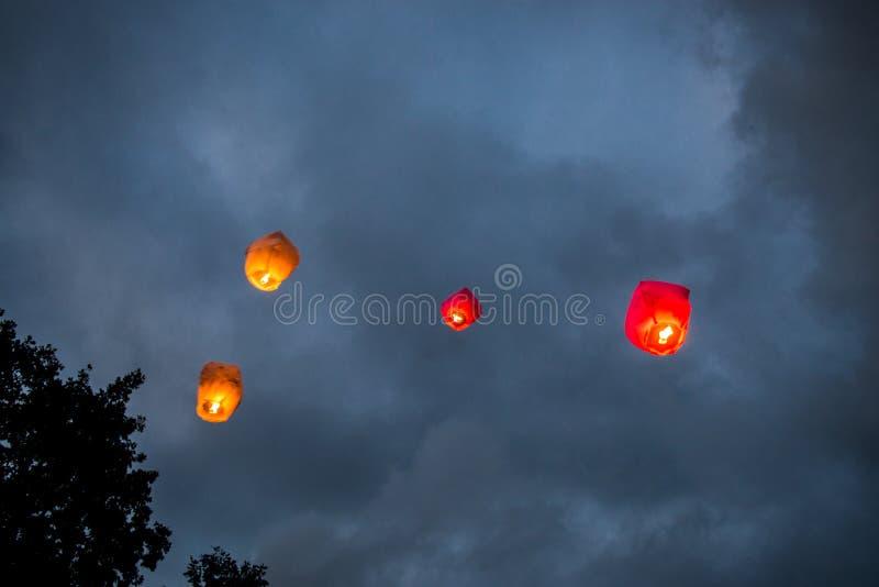 Chinese Lanterns stock image