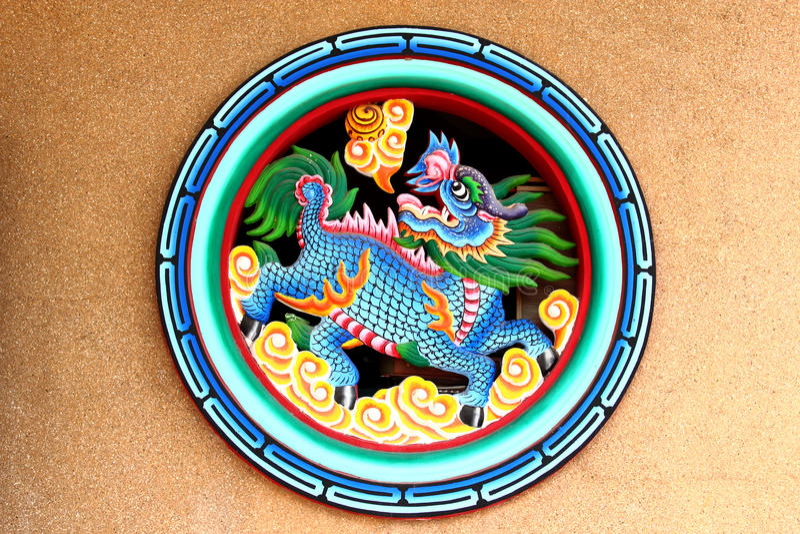 Chinese Leeuw stock foto's