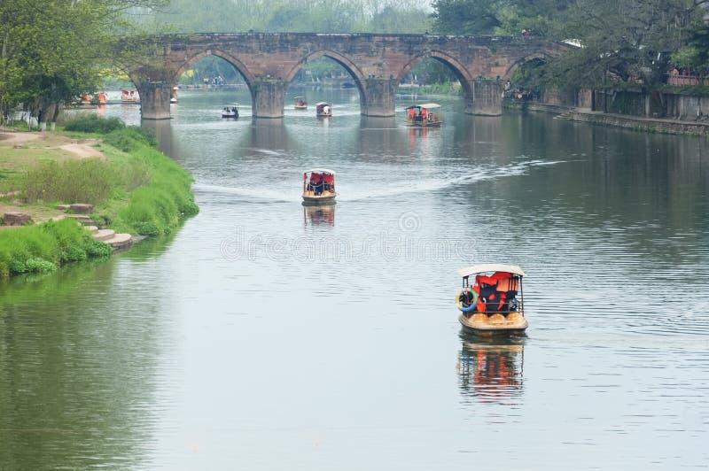 chinese river stock photo  image of raft  china  bamboo