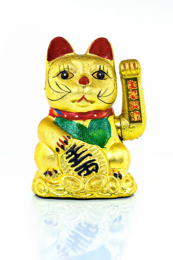 Chinese Lucky Cat stock images