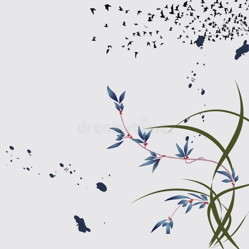 Free Chinese Magic Flower Background Stock Photo - 9953860