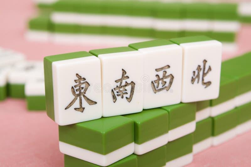 Chinese mahjong royalty free stock image
