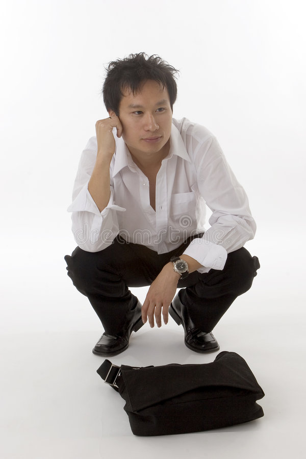 Chinese male royalty free stock images