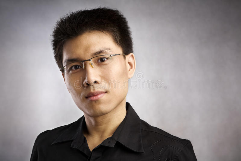 Chinese man royalty free stock image
