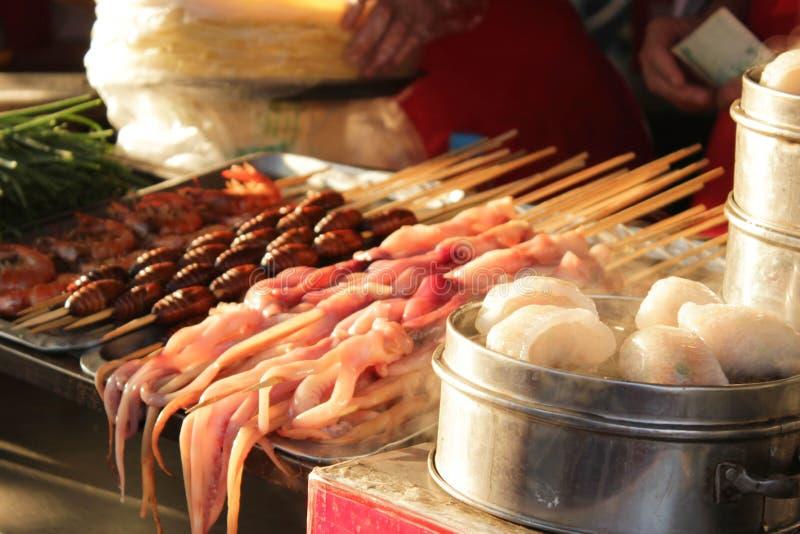Chinese markt royalty-vrije stock foto