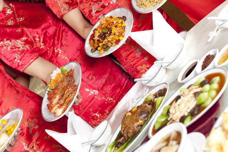 Chinese meal stock photos