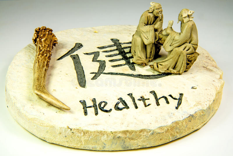 Chinese medicine deer horn stock images