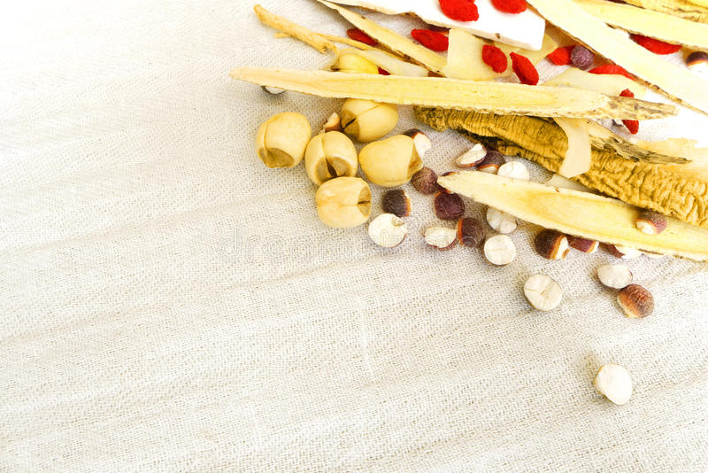 Chinese Medicine Herbs Stock Images