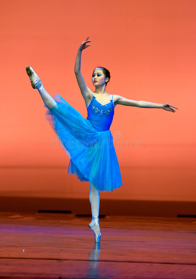 Chinese modern dance royalty free stock photography