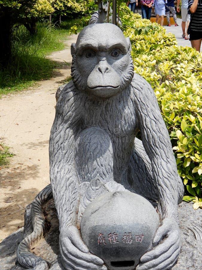Chinese monkey symbol royalty free stock photography
