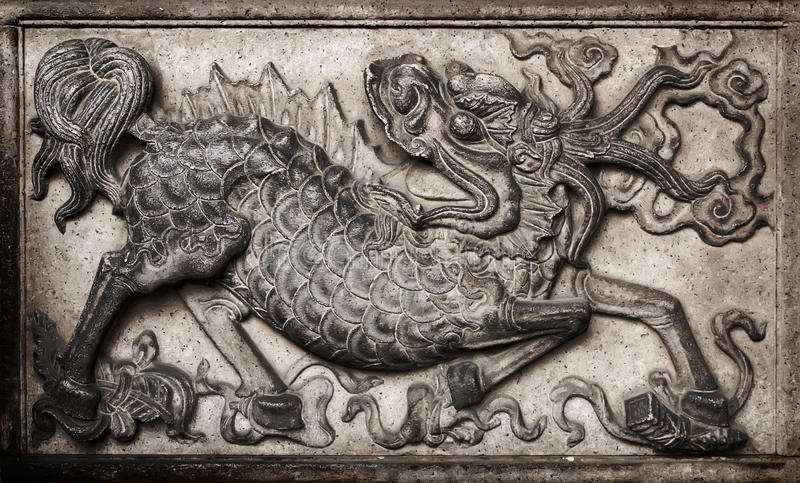 Download Chinese monster stock image. Image of asia, gray, celebrate - 9569917