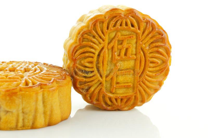 Chinese moon cake stock photo