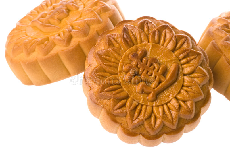 Chinese Moon Cakes stock photo
