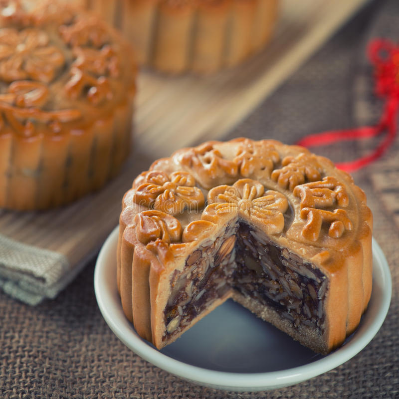 Chinese mooncakes royalty free stock image