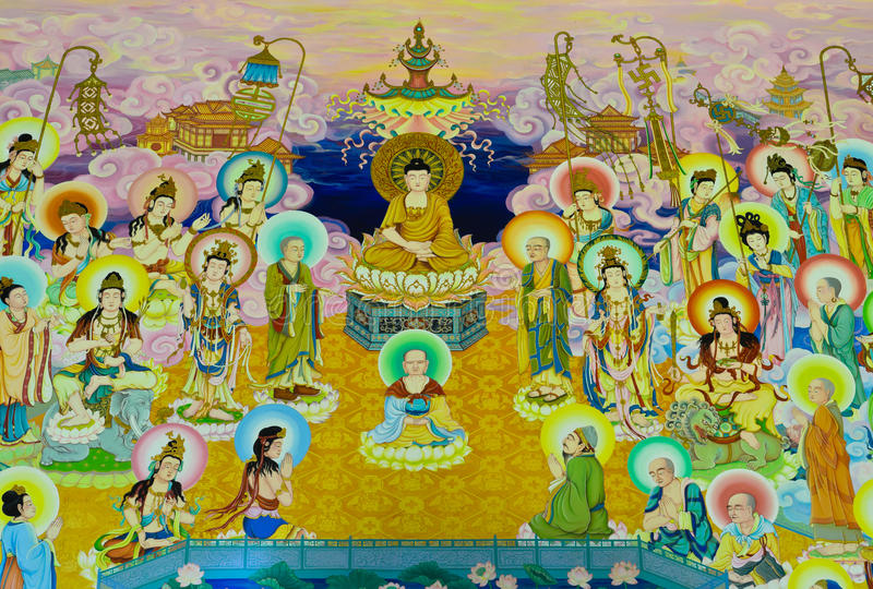 Chinese mural stock photos image 32180943 for Chinese wall mural
