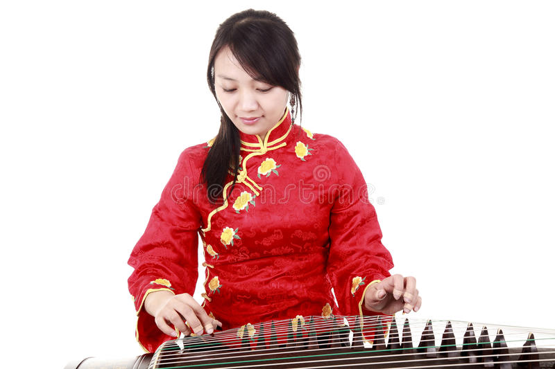 chinese musician stock image image of music nation
