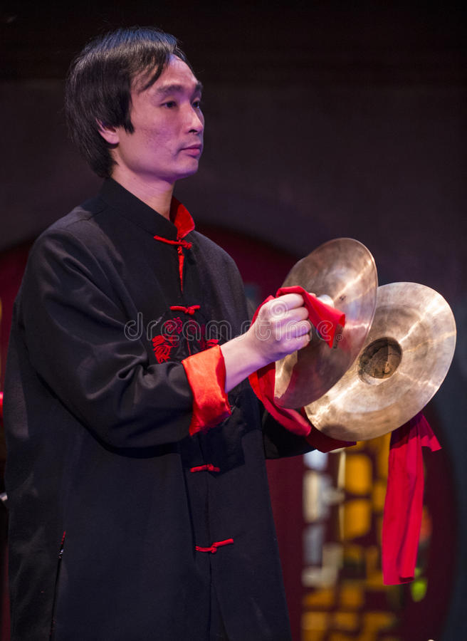 Download Chinese musician editorial stock image. Image of performance - 30586574