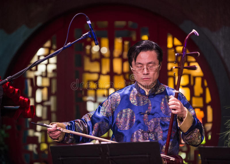 Download Chinese musician editorial photography. Image of play - 30586652