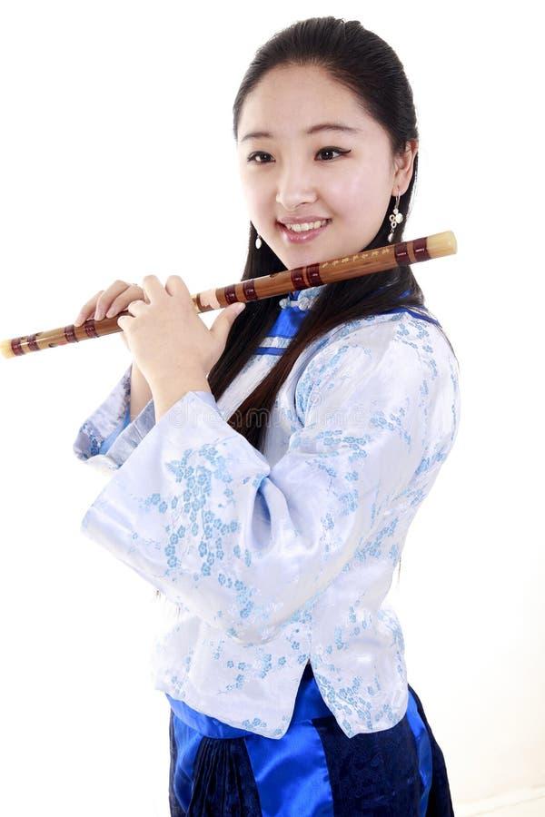 Chinese musicus stock foto's