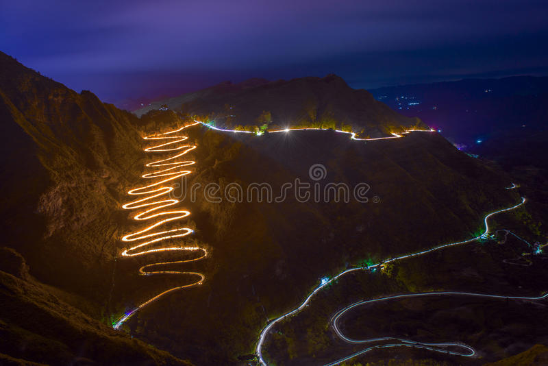 """24 Road Shui --- China """"Stilwell Road"""" stock image"""
