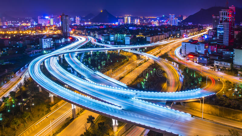 Chinese Napo overpass royalty free stock photos