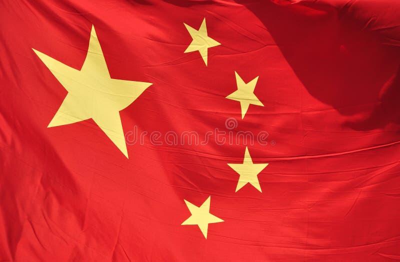 Chinese National Flag stock photos