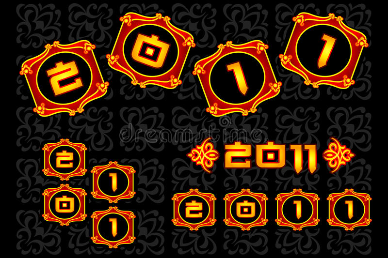 download chinese new year 2011 stock vector illustration of fringe 16922217 - Chinese New Year 2011