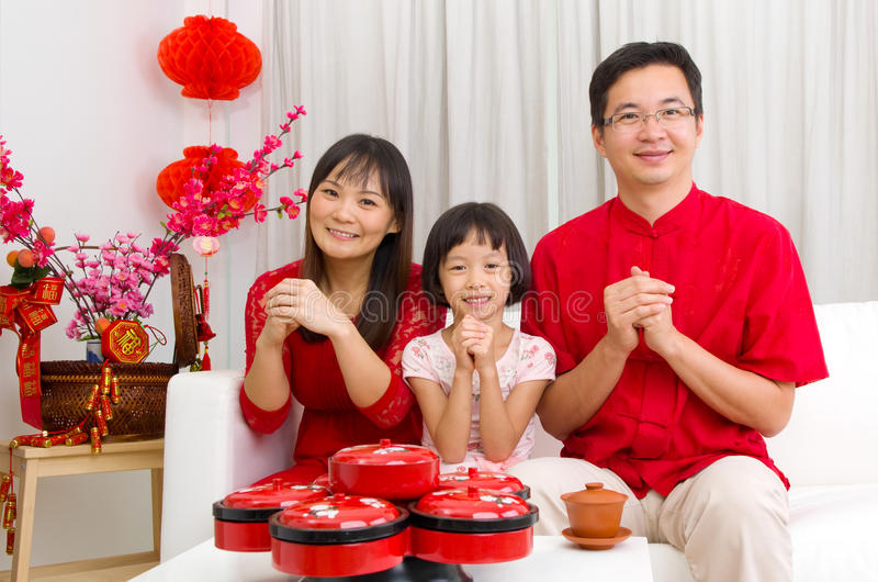 Download Chinese new year stock image. Image of family, background - 64910555