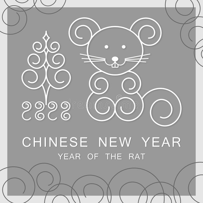 2020 Chinese New Year - Year of the Mouse stock photos