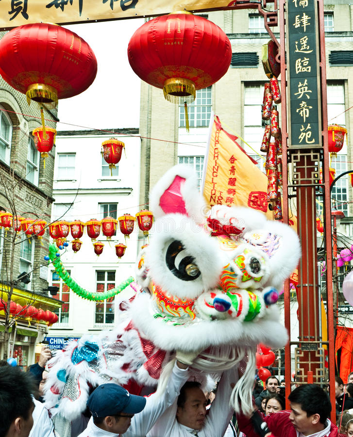 Chinese New Year Celebrations Editorial Stock Photo