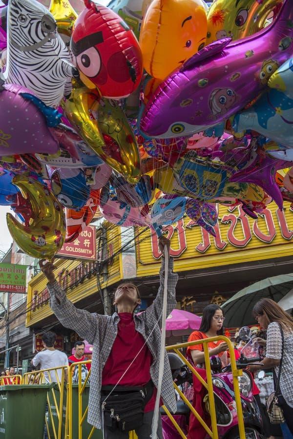 Chinese New Year Celebrations - Bangkok - Thailand royalty free stock photo