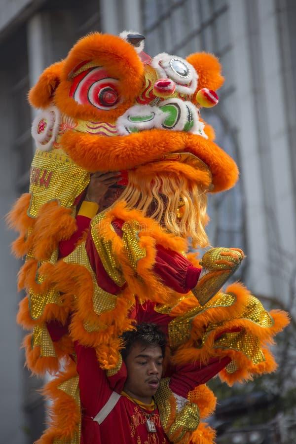 Chinese New Year Celebrations - Bangkok - Thailand stock photo
