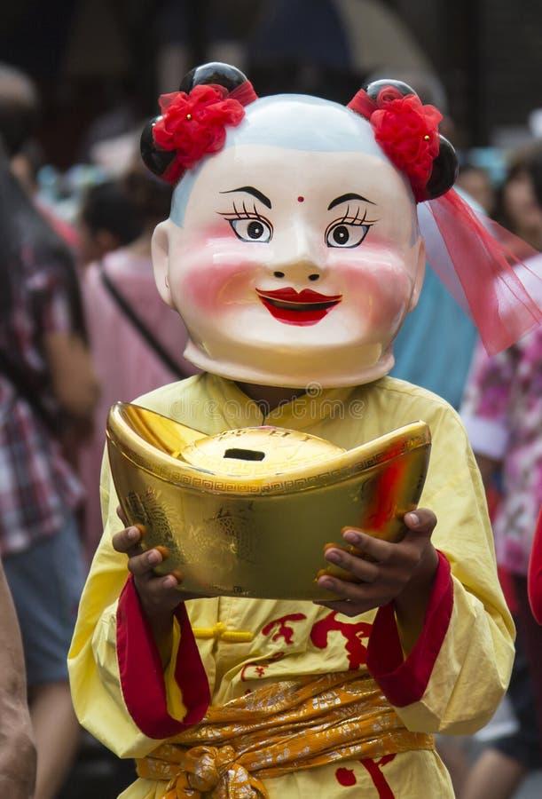 Chinese New Year Celebrations - Bangkok - Thailand stock images