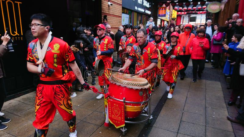 Chinese New Year. Celebrations event stock photography