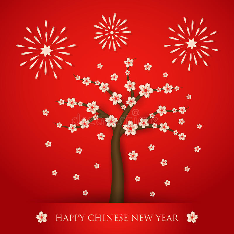 Chinese new year cerabration background vector illustration