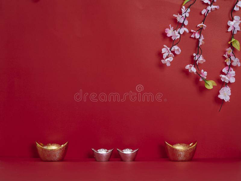 Chinese New Year decoration for spring festival royalty free stock image