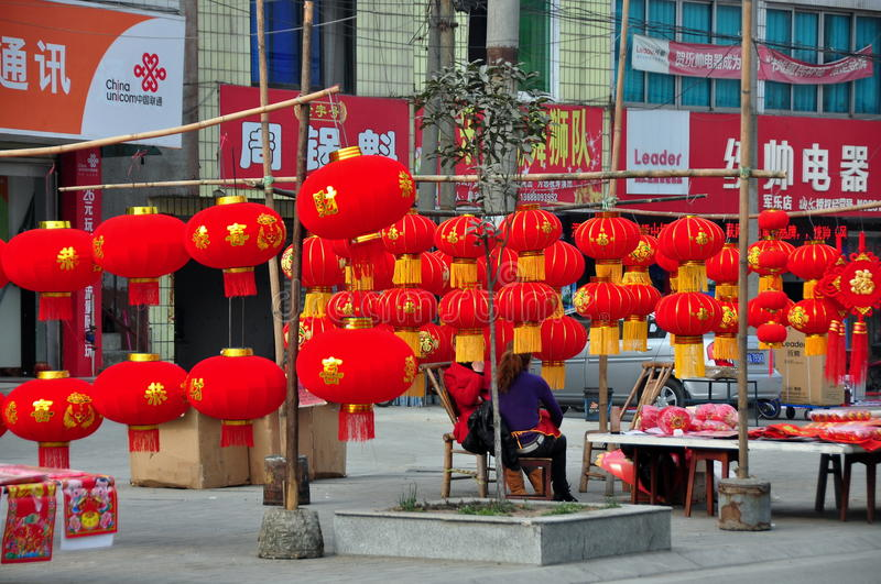Download Chinese New Year Decorations 2013 Editorial Stock Photo - Image: 29025478