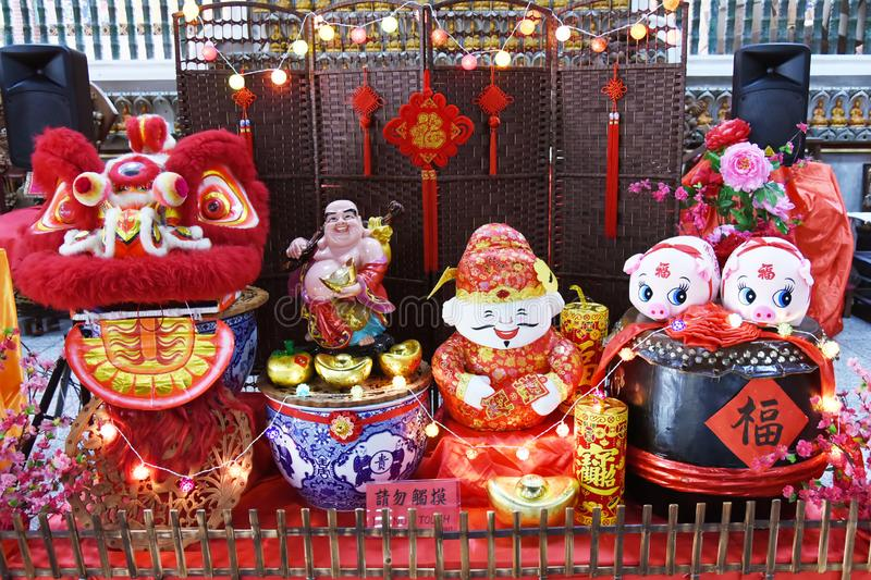 Chinese new year decoration royalty free stock images