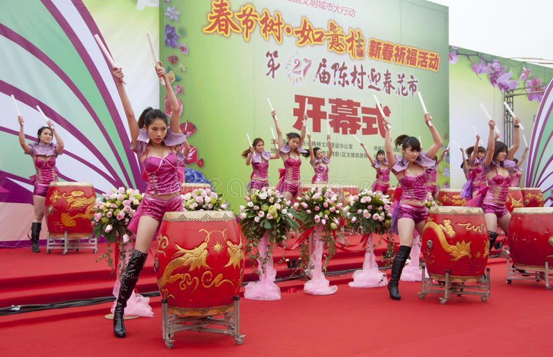 Chinese New Year Festivities Show