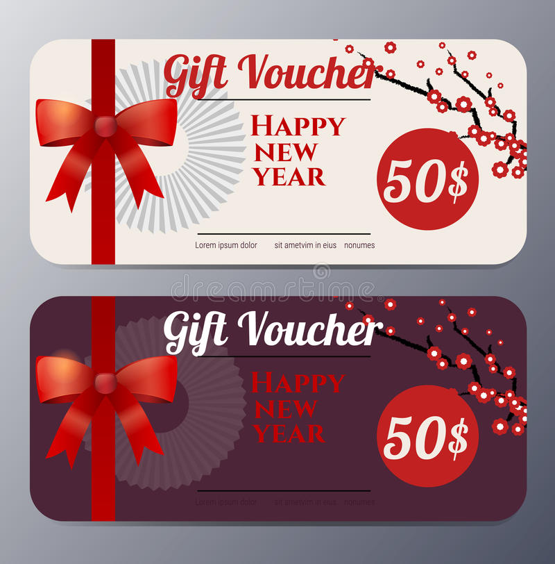 Chinese new year gift voucher template vector illustration stock download chinese new year gift voucher template vector illustration stock vector illustration of template yelopaper Gallery