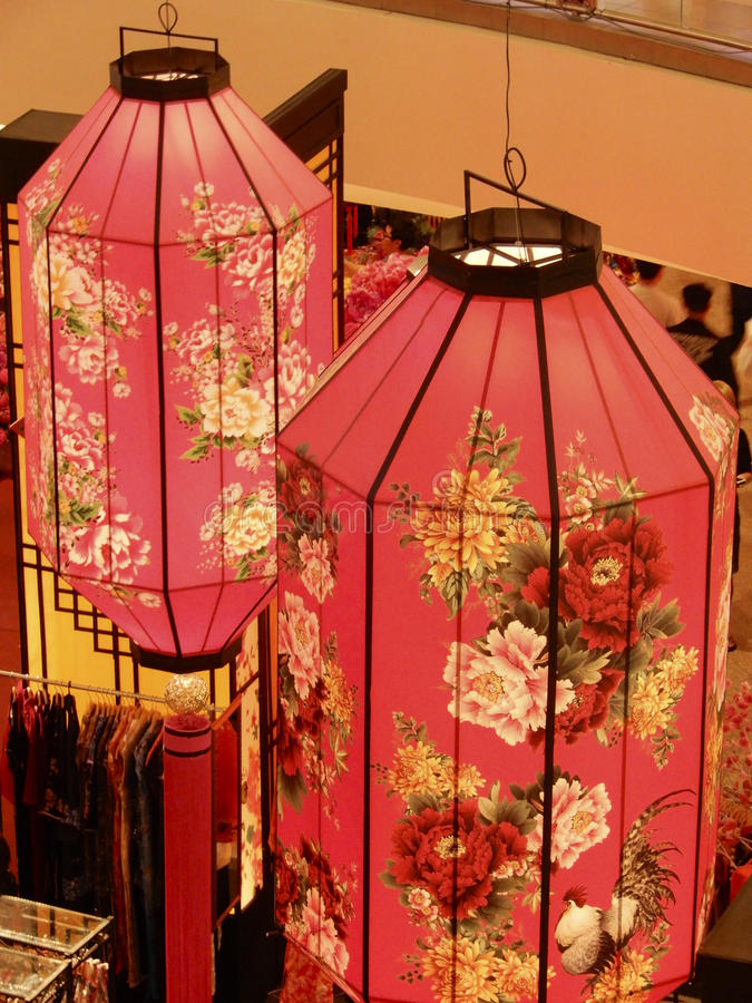 Chinese New Year Lanterns royalty free stock images