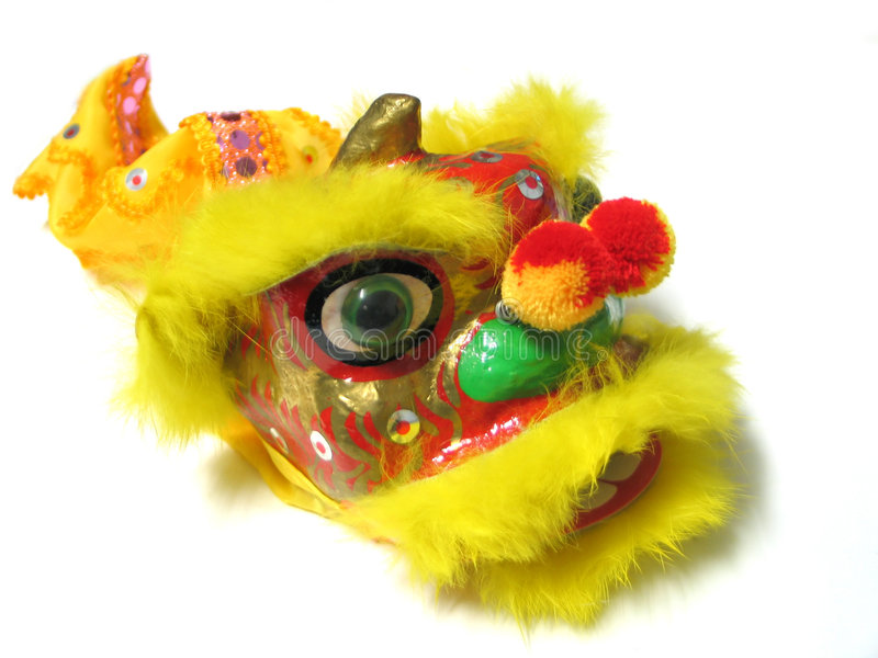 Chinese New Year Lion royalty free stock photos