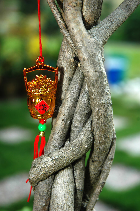 Download Chinese New Year Ornament stock image. Image of prosperous - 4464141