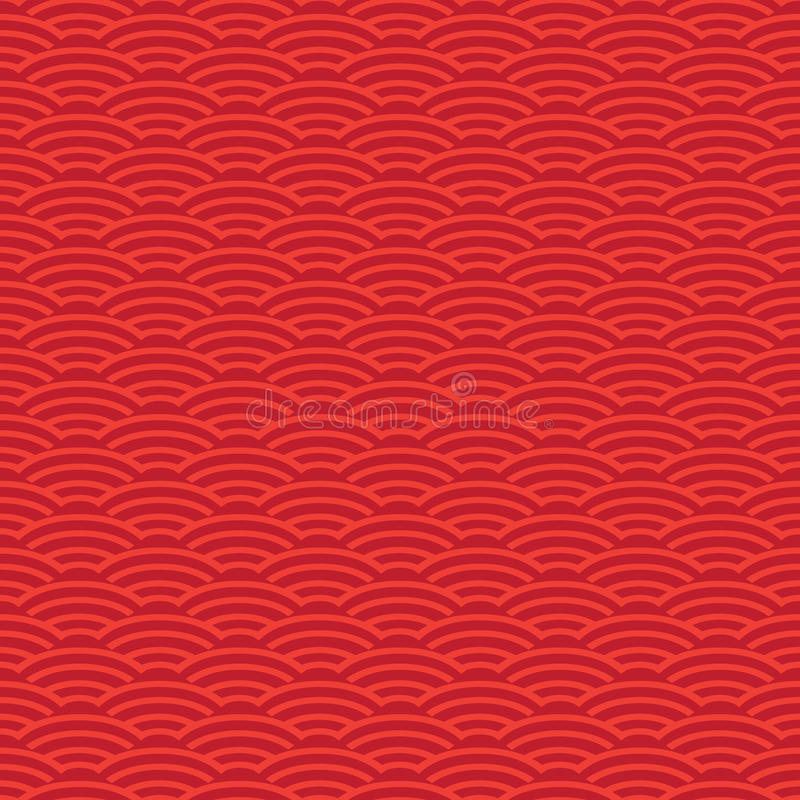 Download Chinese New Year Red Pattern Stock Vector - Illustration of border, carnival: 83058465