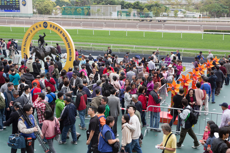 Download Chinese New Year Raceday In Hong Kong Editorial Photography - Image: 29198672