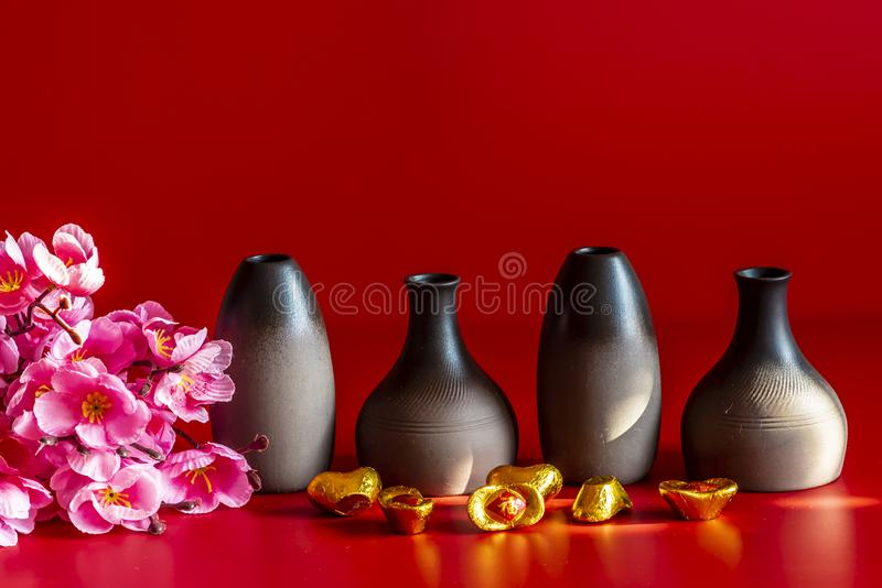 Chinese New Year still life. Chinese new year - still life royalty free stock photography