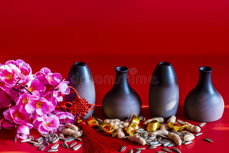 Chinese New Year still life. Chinese new year - still life royalty free stock photo
